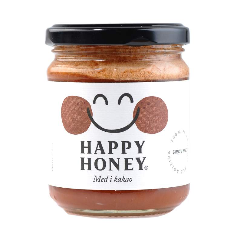 Happy honey med i kakao